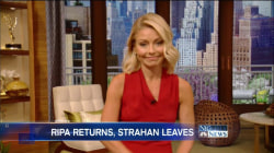 Kelly Ripa Calls for Respect in the Workplace as she Returns to 'Live'