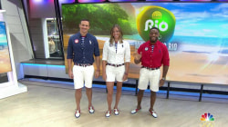 Rio 2016: A sneak peek at Team USA's closing ceremony outfits