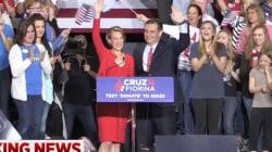Cruz Names Fiorina as VP Running Mate