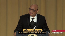 Wilmore skewers D.C. at Correspondents' Dinner