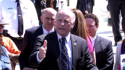 Congressman Tangles With Immigration Activists at Supreme Court