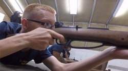 High School Opens Gun Range for Navy Jr. ROTC