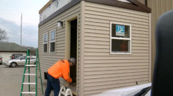 Homeless Veterans to Get Tiny Houses