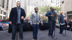 All-4-One performs 'I Swear' on the TODAY plaza