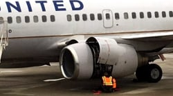 Engine issues force plane to land in Cleveland