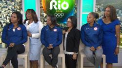 Road to Rio: Team USA athletes salute their moms