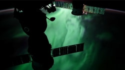 International Space Station Films Aurora Borealis & Australis