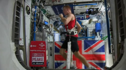 Astronaut Runs Marathon in Space