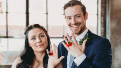 Couple uses Ring Pops as wedding rings after real ones were stolen