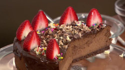 Triple chocolate cheesecake: Make it for Mother's Day!
