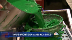 This Dad is Melting Down Thousands of Crayons to Help Children in Need