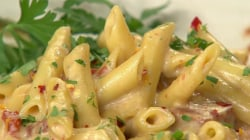 Pasta with salami and cheese: Randy Altig makes it northern Italian style