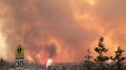 Fort McMurray wildfire forces mass evacuation