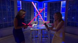 It's Star Wars Day! KLG, Hoda celebrate with light saber