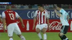 Trump mocked in South American soccer ad