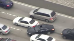 Caught on camera: Wild car chase in Southern California