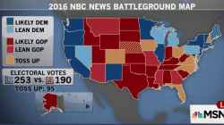 NBC News: Democrats Have Early Electoral Lead