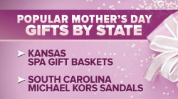Here's the most popular Mother's Day gifts in every state