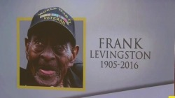 Life well lived: America's oldest WWII veteran Frank Levingston