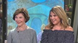 Laura Bush, Jenna Bush Hager share love for 'Our Great Big Backyard'