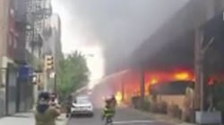 Fire under Metro-North tracks in NYC disrupts service for thousands
