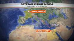 Egyptair MS804 debris spotted in Mediterranean