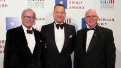 Tom Brokaw, Tom Hanks honored with Legion of Honor