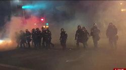 Chaos abounds outside Trump Albuquerque rally