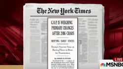 NYT: GOP rethinking nomination process