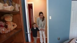 Bobbie Thomas surprises mom and son with room makeover