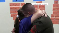Watch military son surprise mom in touching reunion