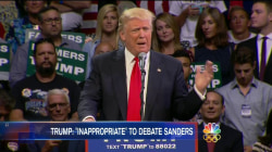 Trump Backs Down From Hypothetical Debate With Sanders
