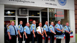 These Cops  Serve and Protect With Their Own Doughnut Shop