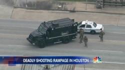 6 Hit in Wild Houston Holiday Weekend Shooting Spree