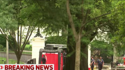 Suspicious package outside White House