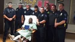 Police Deliver Diploma to Teen Hit by Taxi Before Graduation
