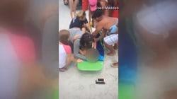 Teen Survives Shark Attack in Florida