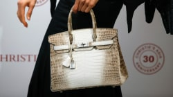Diamond-Encrusted, Crocodile Purse Sells for Record $300K