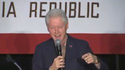 'It's Been a Long Time' Since a Girl Said This to Bill Clinton