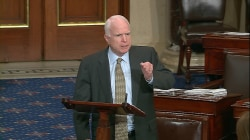 McCain Challenges Reid on Senate Floor Over Defense Bill