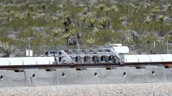 Watch Demo of Hyperloop Mechanism