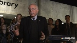 Sanders makes remarks after primary win