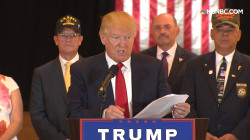 Trump details $5.6 million donations to vets