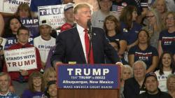 Donald Trump nears delegate goal, launches new Hillary Clinton attack