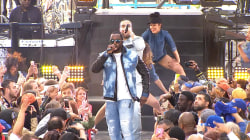 Watch Puff Daddy perform medley with French Montana