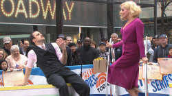 Cast of 'She Loves Me' performs 'Ilona' on the TODAY plaza
