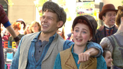 'Tuck Everlasting' cast perform 'Partner in Crime' on the plaza