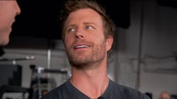 Dierks Bentley takes Willie backstage on his tour