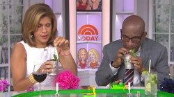 Hoda and Al Roker sample $1,000 Kentucky Derby cocktail