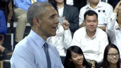 Vietnamese rapper impresses Obama during Asia tour